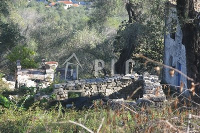 LAND WITH OLD STONE HOUSE for sale - OZIAS PAXOS